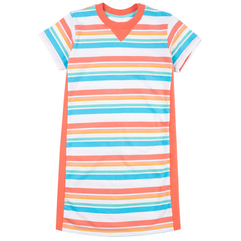 Jumping Jack Stripe T-Shirt Dress
