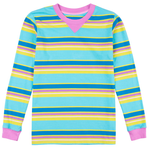 Jungle Gym Long Sleeve Stripe Tee
