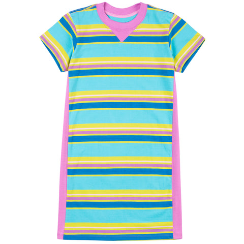 Jungle Gym Stripe T-Shirt Dress