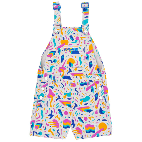 Keyboard Jam Overall Shorts