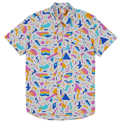 Keyboard Jam Button Up Shirt