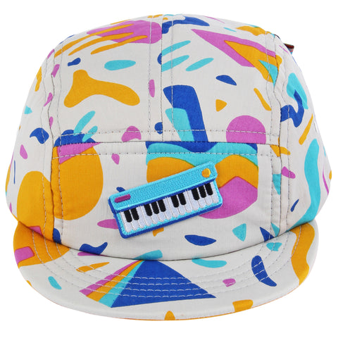 Keyboard Jam 5 Panel Hat