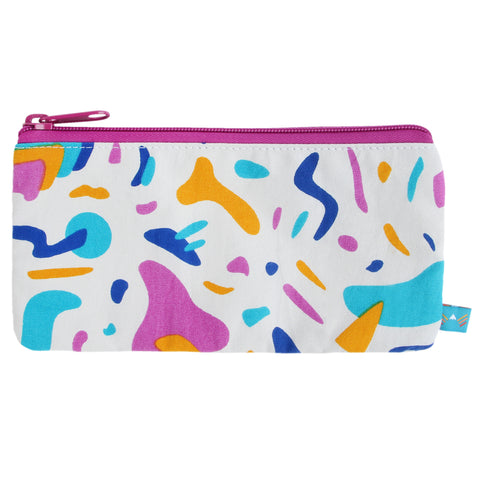Keyboard Jam Pencil Zip Pouch