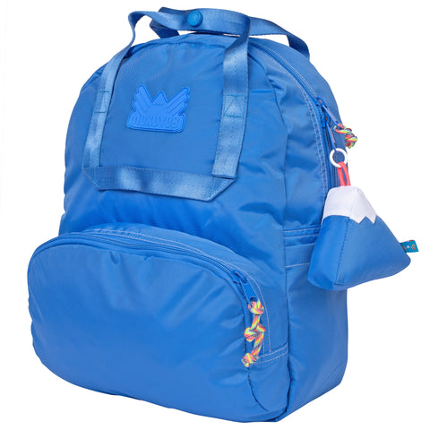 Medium Blue Atlas Backpack