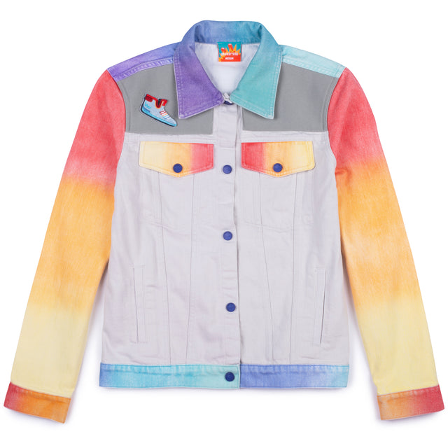 Mens Airbrush Denim Jacket Mokuyobi