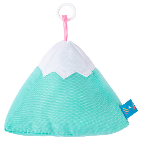 Mint Plush Mountain Keychain