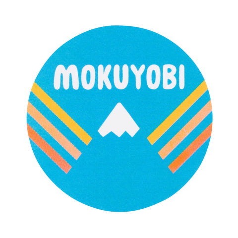 Mokuyobi Logo Sticker