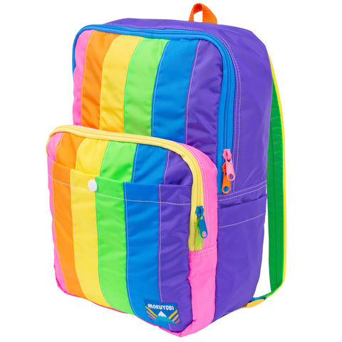 Rainbow Stripe Monterey Backpack
