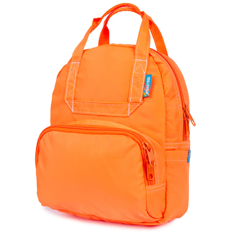 Neon Orange Mini Atlas Backpack
