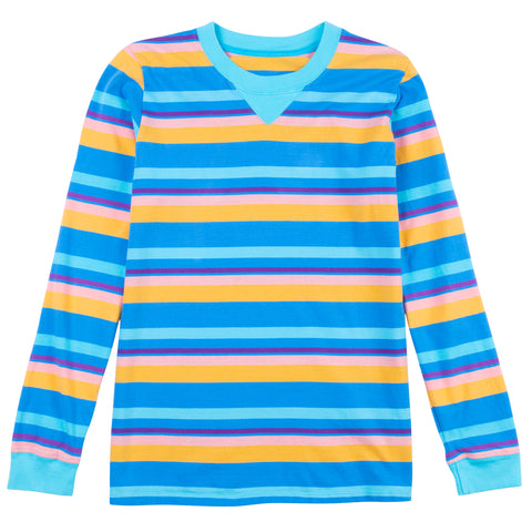 Pinwheel Long Sleeve Stripe Tee