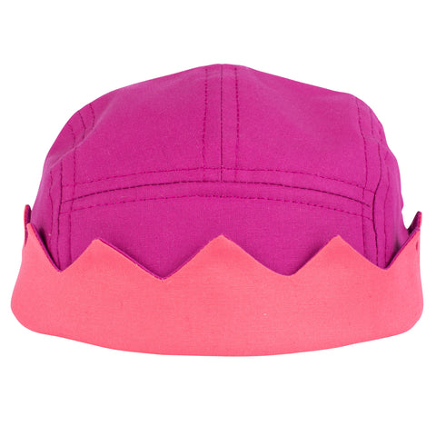 Purple Crown 5 Panel Hat