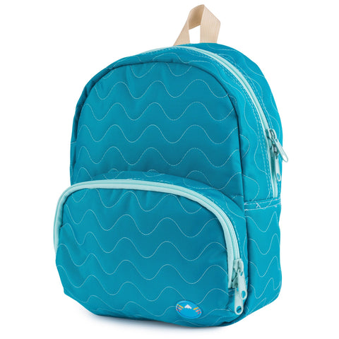 Jade Quilted Purse Backpack