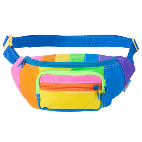Rainbow Stripe Fanny Pack Sling