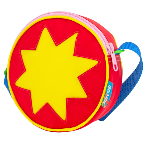 Sack Lunch Starburst Circle Purse
