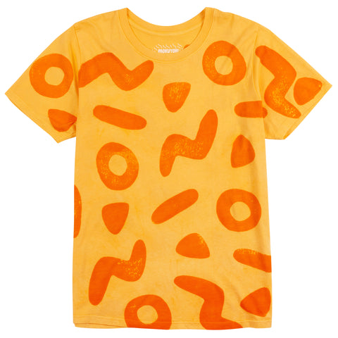 Saffron Shapes Tee