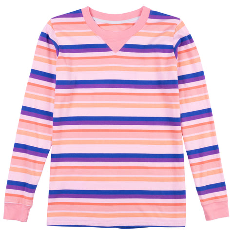 Sand Box Long Sleeve Stripe Tee