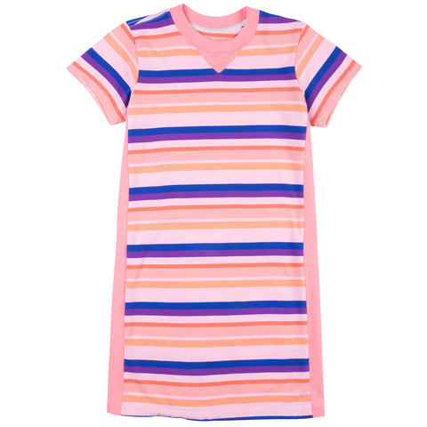 Sand Box Stripe T-Shirt Dress