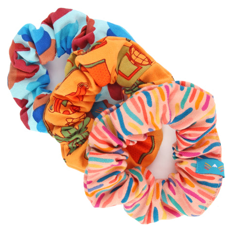 Print Scrunchie 3-Pack