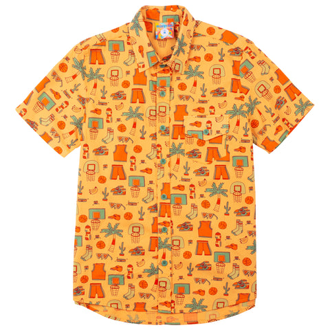 Slam Dunk Paradise Button Up Shirt