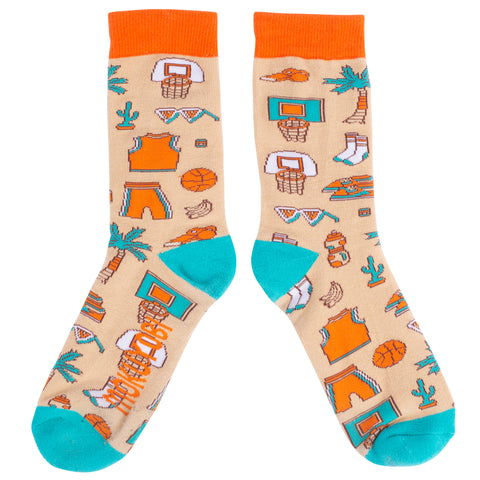 Slam Dunk Paradise Socks