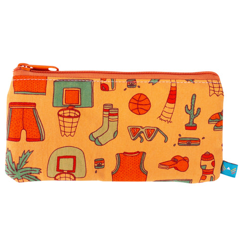 Slam Dunk Paradise Pencil Zip Pouch