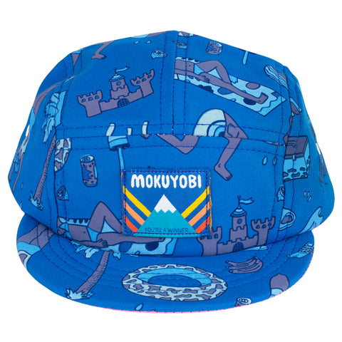 Splash Town 5 Panel Hat