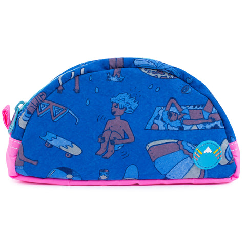 Splash Town Travel Zip Pouch
