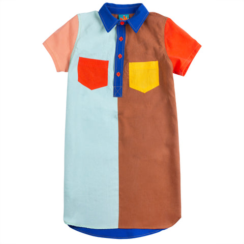 Sugar Bear Pigment Shirt Dress