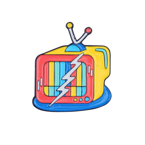 TV Set Pin