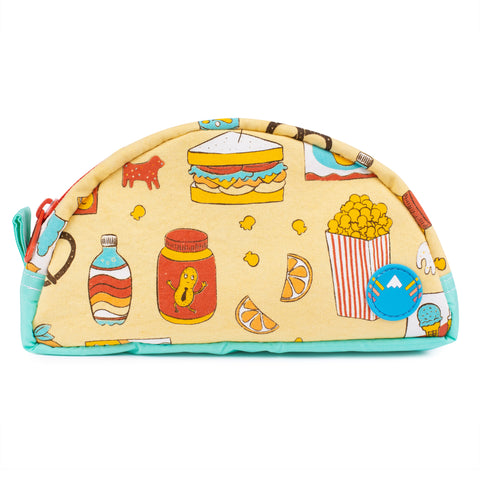 Vintage Treat Travel Zip Pouch