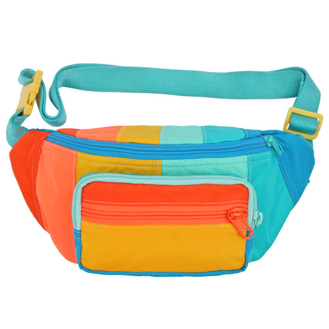 Whiz Kid Stripe Fanny Pack Sling