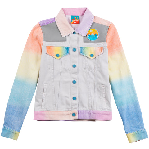 Women's Airbrush Denim Jacket