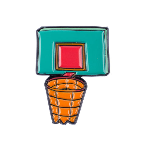 B-ball Hoop Pin