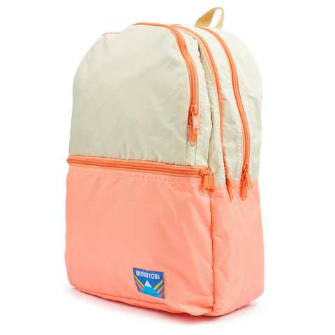 Bone/Coral Nilson Backpack