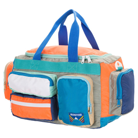 Neon Orange/Mint Camp Bag