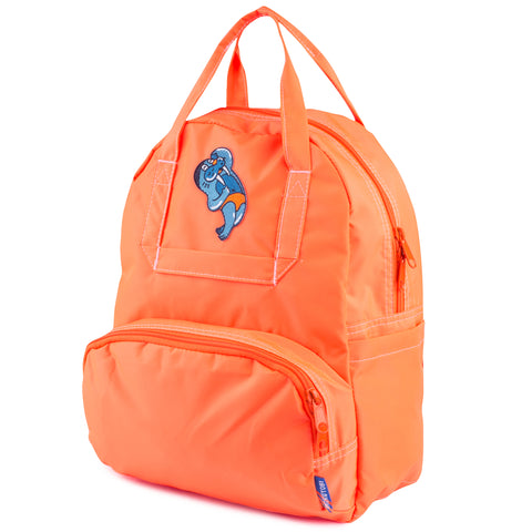 Neon Orange Atlas Backpack