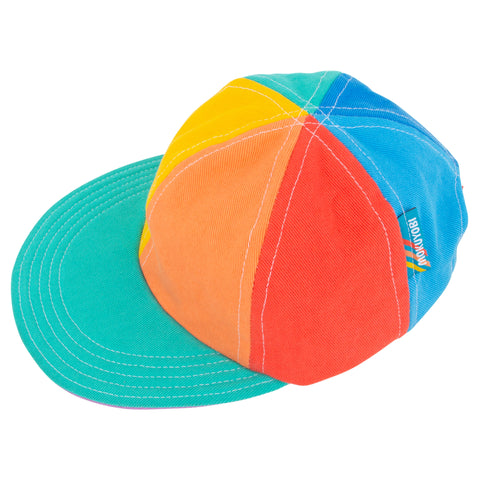 Rainbow Denim Hat