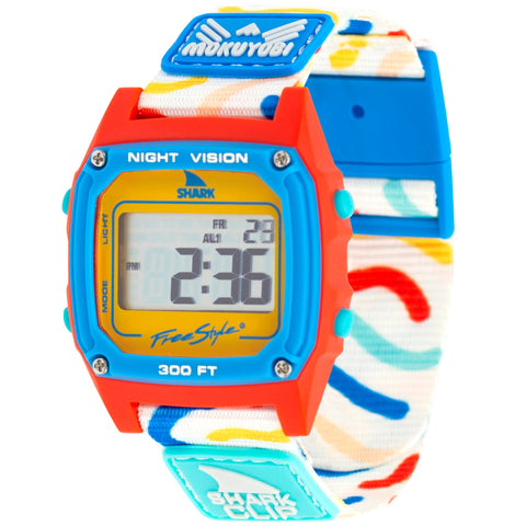 Noodle Doodle Shark Classic Freestyle Watch