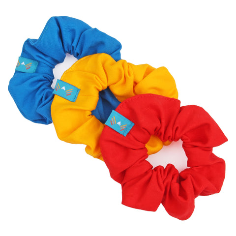 Primary Scrunchie 3-Pack