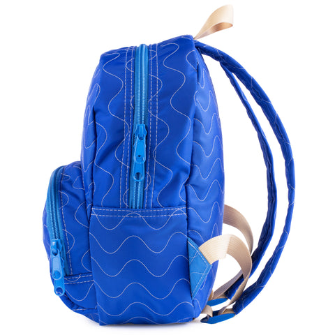 Royal Quilted Purse Backpack