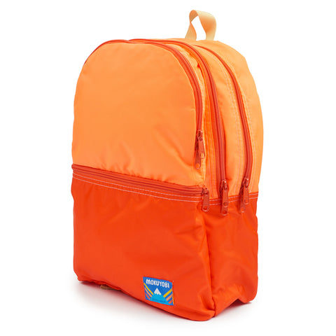 Neon Orange/Red Nilson Backpack
