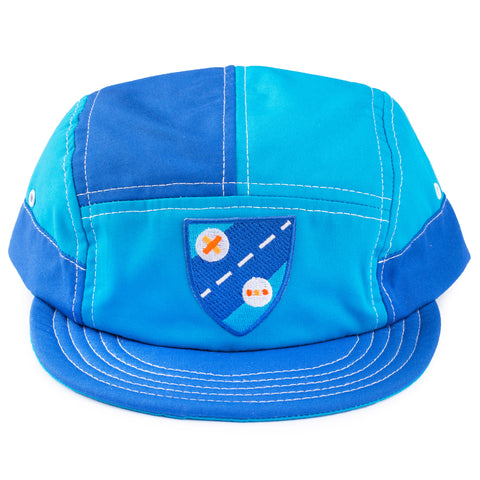 Shield Blue 7 Panel Hat