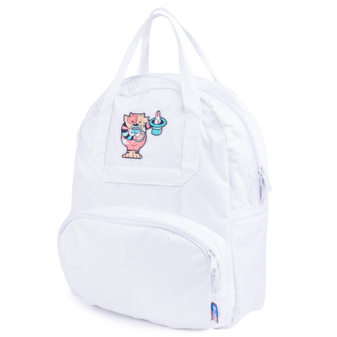 White Atlas Backpack
