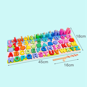 Toys Montessori Puzzle Math 6 in 1