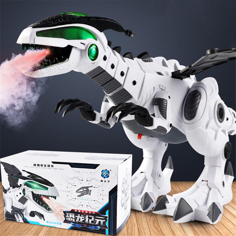 Electric Dinosaur with Sound & Spray