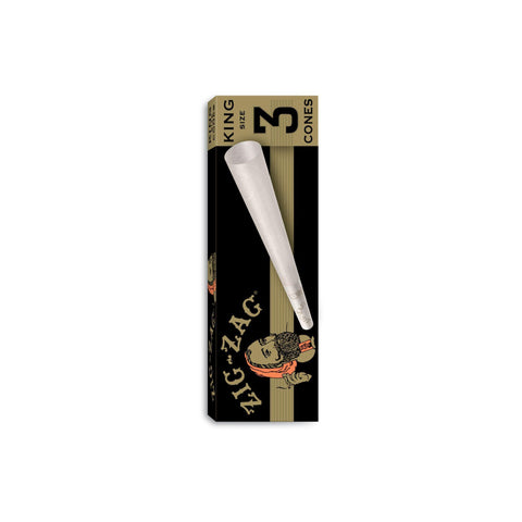 Zig Zag King Size Pre-Rolled Cones 1 Pack
