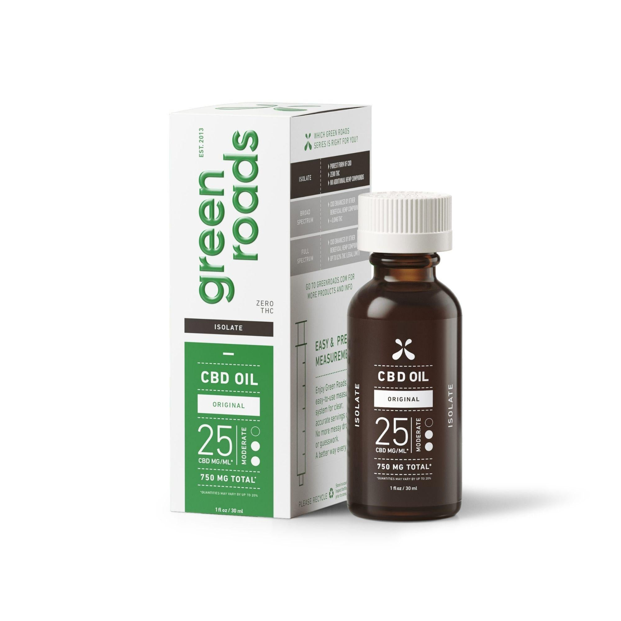 Green Roads 750MG Broad Spectrum CBD Oil