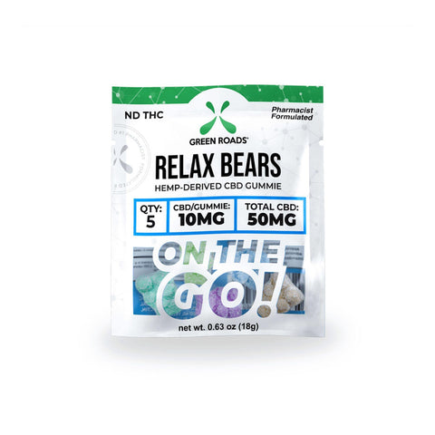 Green Roads 50MG Relax Bears