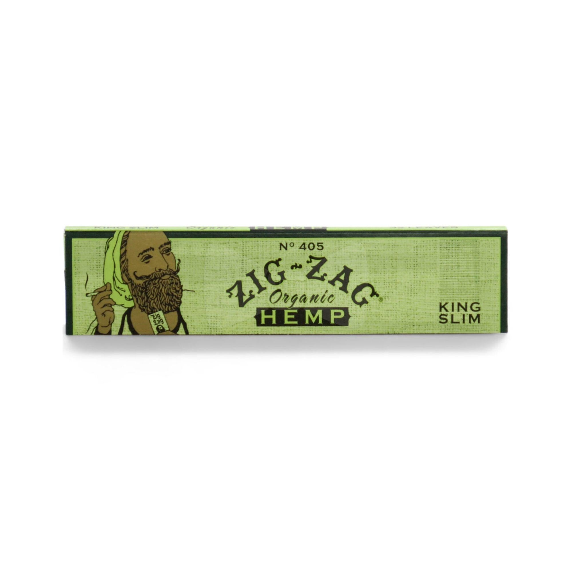 Zig Zag Organic Hemp King Slim Rolling Papers 1 Pack