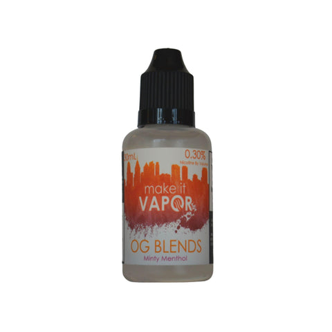Minty Menthol - OG Blends (30ML)